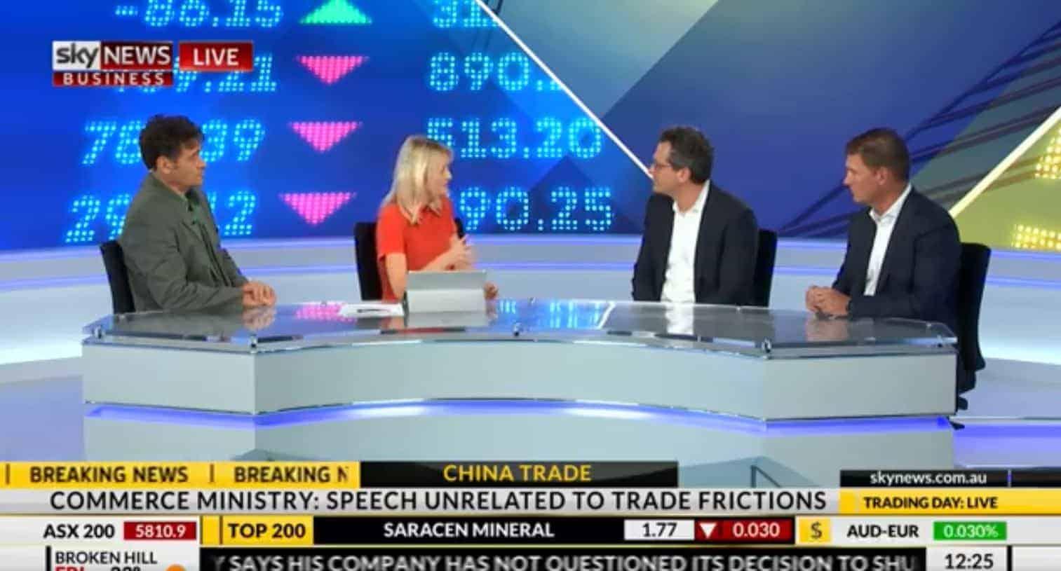 Noah Breslow & Cameron Poolman Interview with Sky News - OnDeck